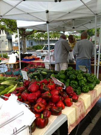 Gondolier Apartments & Inn: saturday local farmers market