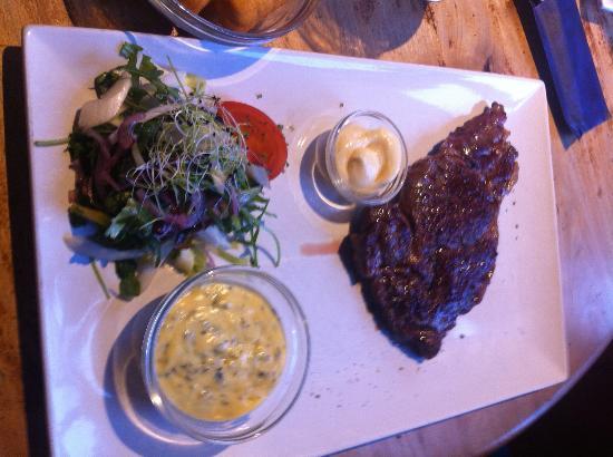 Bierbeek, Bélgica: steak