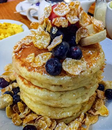 Scratch Kitchen And Bake Shop milk and cereal pancakes - picture of scratch kitchen & bake shop