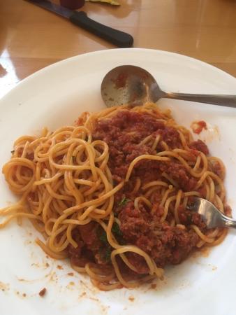 Marcello Pizzeria: Spaghetti bolognese