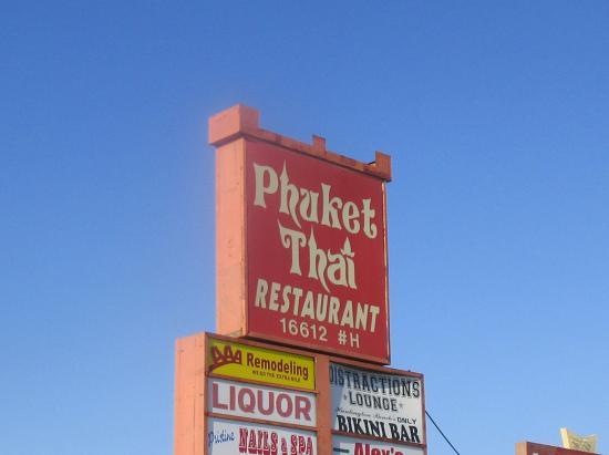 Thai Food In Huntington Beach Ca On Beach Blvd