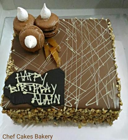 Remarkable Birthday Cake Picture Of Chef Cakes Bakery Denpasar Tripadvisor Funny Birthday Cards Online Kookostrdamsfinfo
