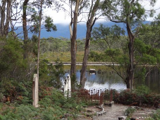 Tasmania, Australia: Family Graves seen along the way