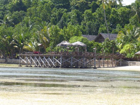 Patuno Resort Wakatobi : Main area, reception/restaurant