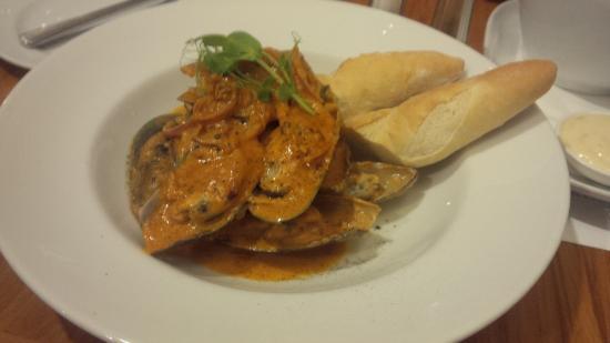 La Patio Cafe & Bar: Mussels