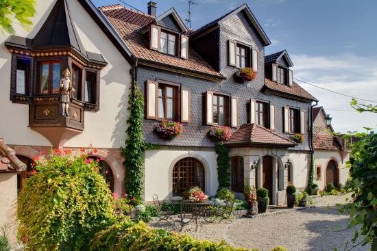 Andlau, فرنسا: Domaine Guy Wach - Facade