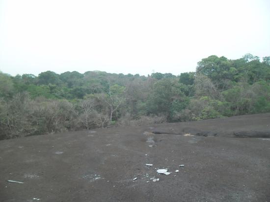 Korup National Park, Camerún: Rengo Rock uitzicht