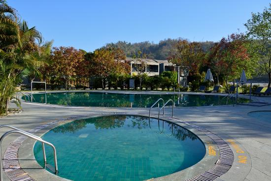Swimming Pool Picture Of Club Mahindra Corbett Nainital Tripadvisor