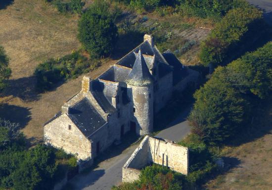 Le Croisic, Prancis: Le manoir de Kervaudu (village de  l'homme noir) dans les terres du Croisic.