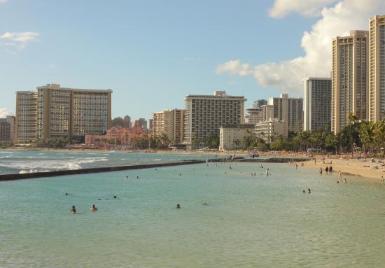 Waikiki Beachside Hostel: 5 min walk from the hostel to this!