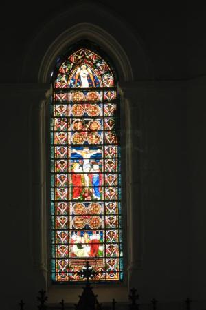 Dutch Reformed Church: Stained glass window