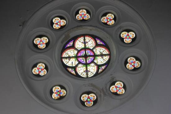 Dutch Reformed Church: Windows in church