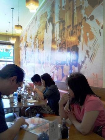 Box Hill, Avustralya: Lunch hour customers.