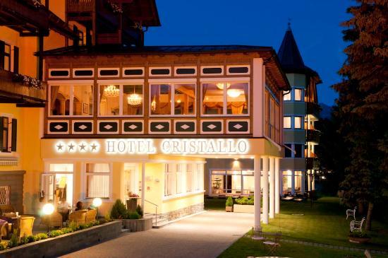 Cristallo Hotel: Terasse
