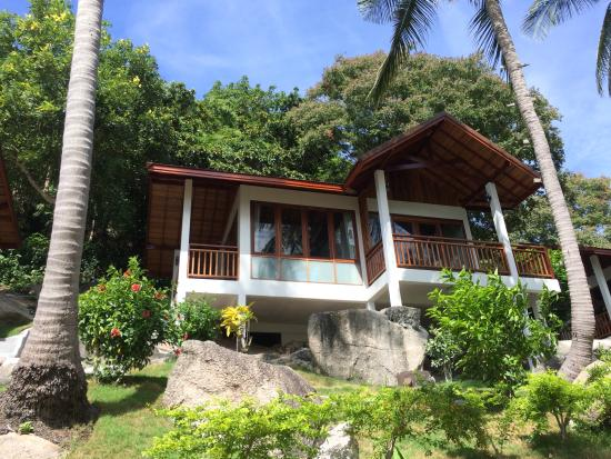 Coral View Resort Thailand : Seaview chalet exterior