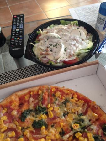 Pizzeria Costa Smeralda da Ciro: Chefsalat