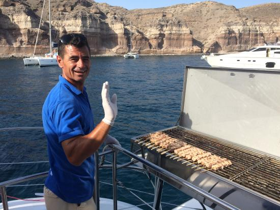 Sunset Oia Sailing - Day Tour: perfectly cooked onboard