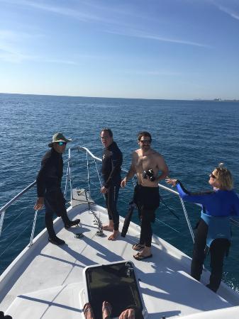Jupiter, FL: Divers on Bow