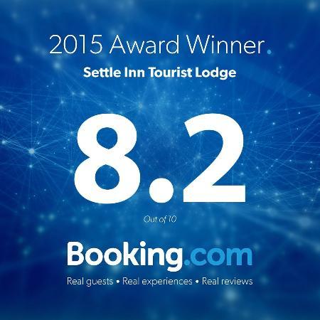 Settle Inn Tourist Lodge: booking.com award