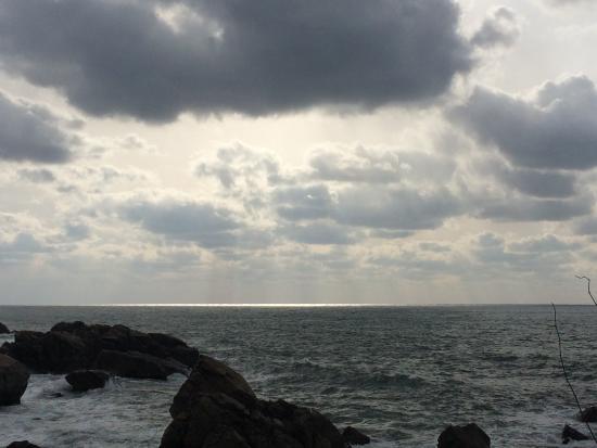 大間越海岸