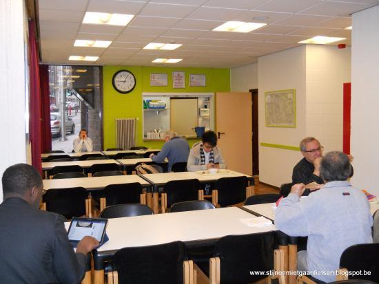 Bruegel Youth Hostel: Keurige en frisse eetruimte