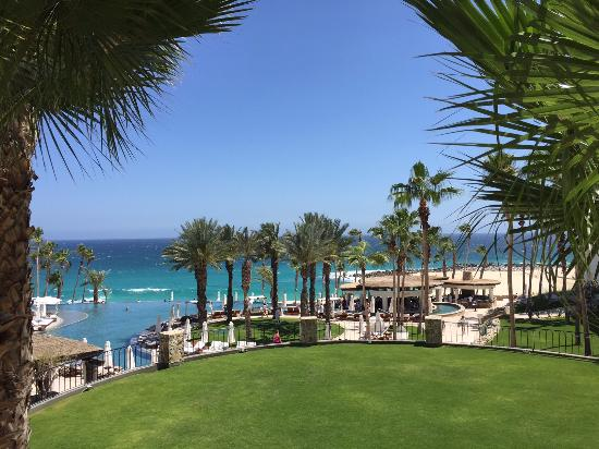 Hilton Los Cabos Beach & Golf Resort: Ocan view from the hotel