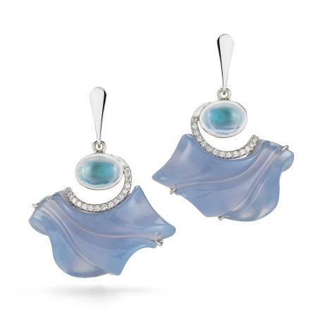 Diana Vincent Jewelry Designs: Original Diana Vincent Moonstone Earrings
