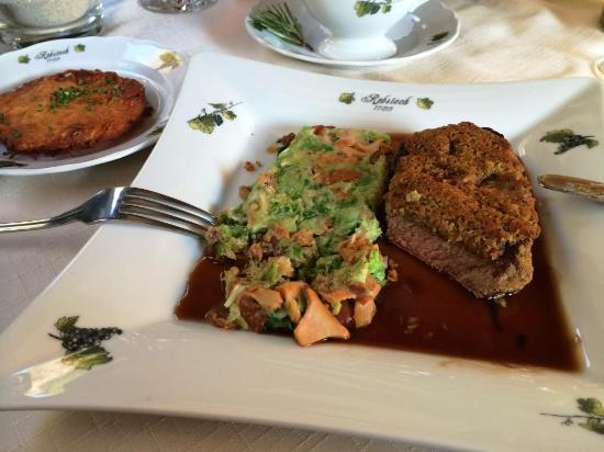 Kappelrodeck, Almanya: feines Steak