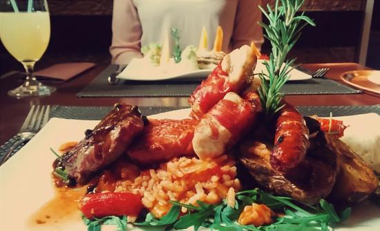 Lesce, Eslovenia: Grill plate