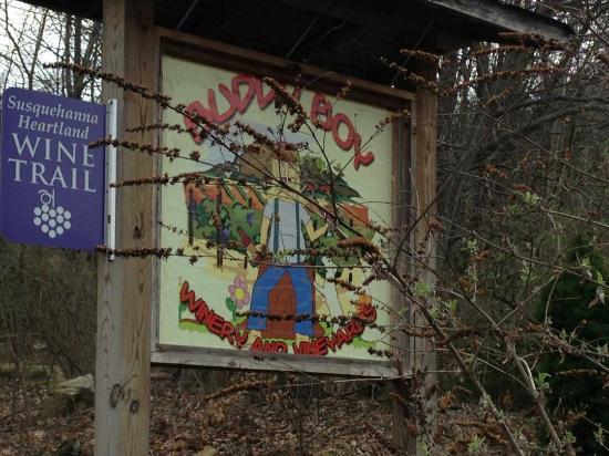 Duncannon, PA: Sign at entrance