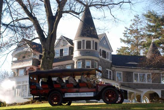 Yorklyn, DE: The Marshall Mansion and a Stanley Steam Car