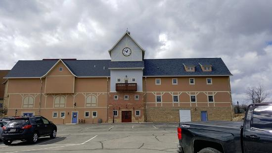New Glarus, WI: Outside of one of the buildings