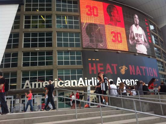fachada picture of american airlines arena miami tripadvisor rh tripadvisor com