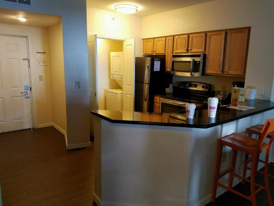 the kitchen of room 7506 with the one poor kitchen light picture rh tripadvisor com
