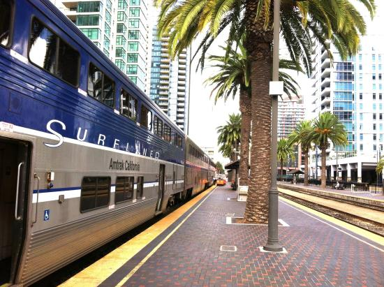 all aboard in san diego picture of amtrak pacific surfliner rh tripadvisor com