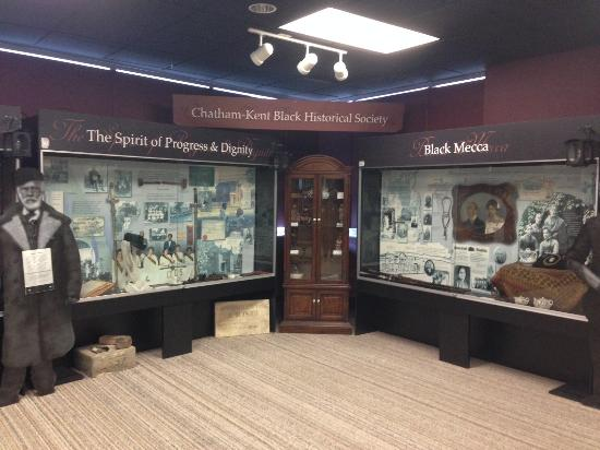 ชัตทัม, แคนาดา: Chatham-Kent Black Historical Society's Black Mecca Museum