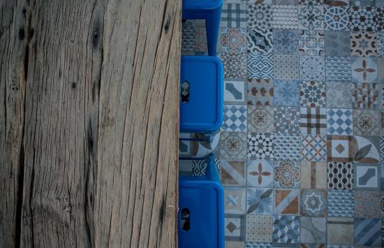 Casa Galos Hotel & Lofts: decorative detail - terrace