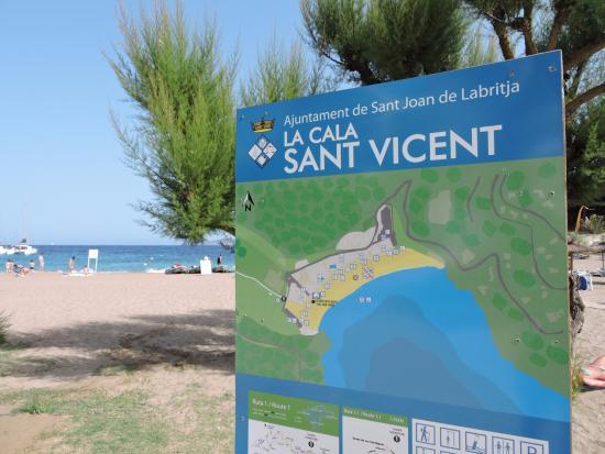 Sant Vicent de sa Cala, España: Cala de Sant Vicent