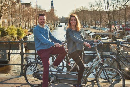 Amsterdam en Bicicleta