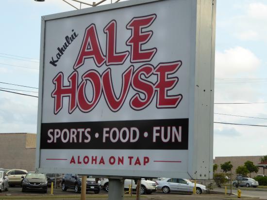 Kahului Ale House : Aloha on tap
