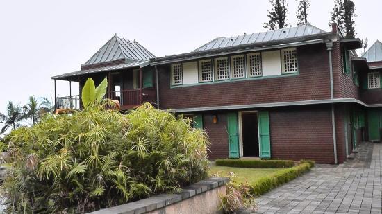 Conservatoire Botanique National de Mascarin: Jardin de Mascarin Demeure principale Arrière