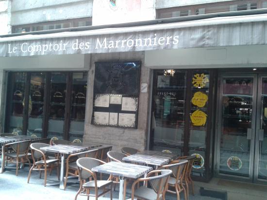 Restaurant le comptoir des marronniers lyon france picture of le comptoir des marronniers - Le comptoir des fees lyon ...