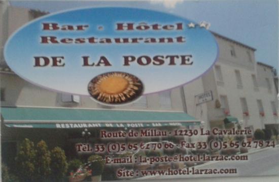 La Cavalerie, Fransa: La Poste