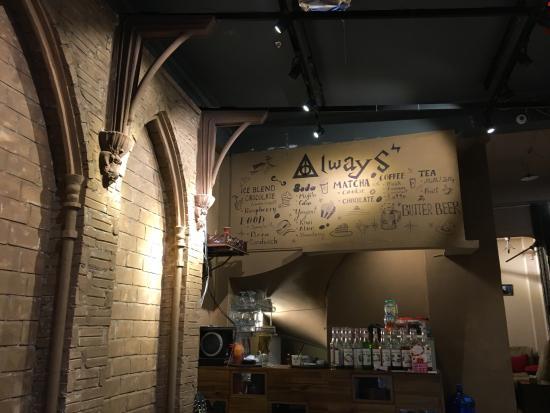 Quán cafe Always: menu
