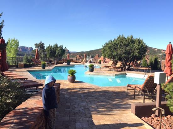 Hyatt Residence Club Sedona, Pinon Pointe: Pool area