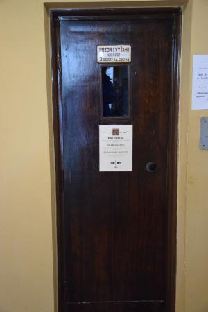 Brezno, Slowakije: A nagyon ócska lift