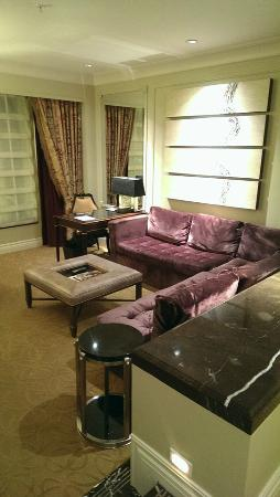 living room area color is off in photo couch was more dark brown rh tripadvisor com au