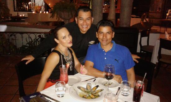 Le Bistro: Una noche muy especial en agradable compañia.