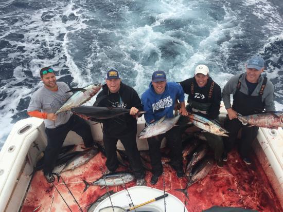 Ilwaco, WA: Plugged with tuna