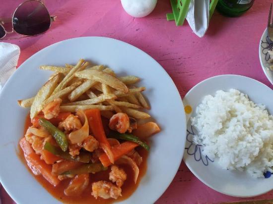 Rosas Restaurant: Shrimps Special